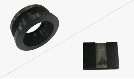チタンやセラミックなど難削材も含め、幅広い材質に対応!