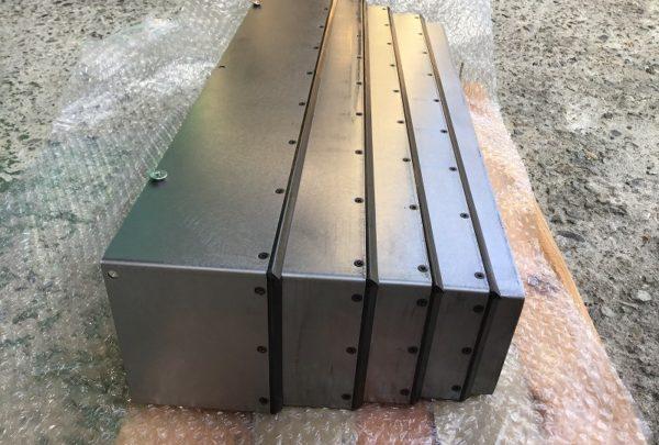 テレスコカバー 板金溶接組立品メイン画像 - はりま部品加工・機械組立.com