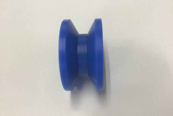 樹脂プーリー 特注製作サイズ:φ50mm×H:25mm - はりま部品加工・機械組立.com