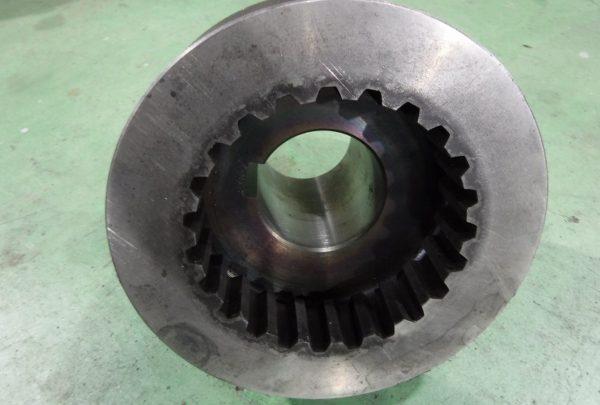 鉄鋼業向け グリス給油式 クラッチ爪サイズ:φ190mm×L:150mm - はりま部品加工・機械組立.com