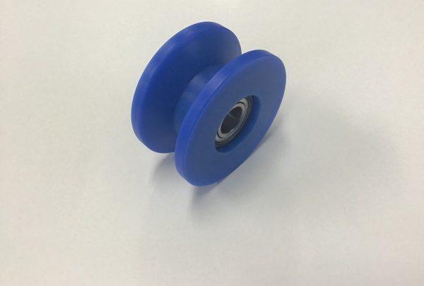 樹脂プーリー 特注製作用途:電線・ケーブル業界用プーリー - はりま部品加工・機械組立.com