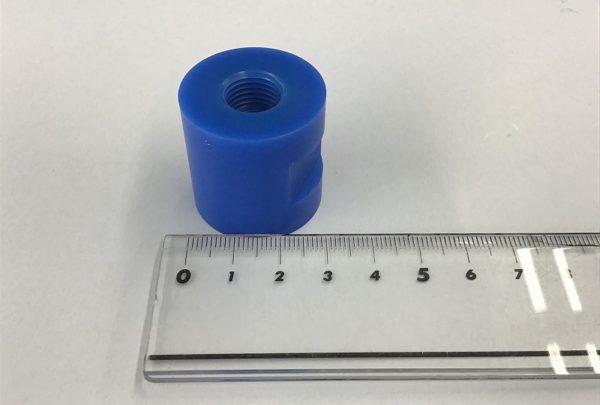 電極ホルダー用 絶縁ワッシャー 樹脂加工品用途:絶縁ワッシャー - はりま部品加工・機械組立.com