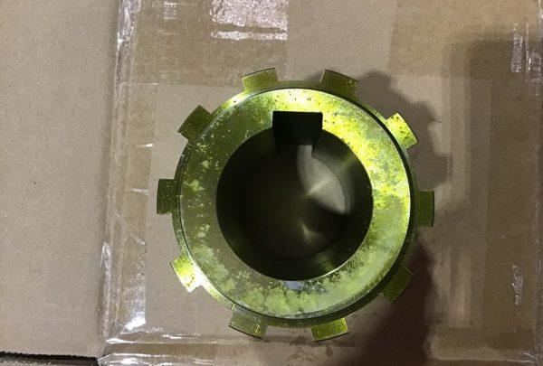 油圧モーター用スプライン 単品加工品サイズ:PCD92 L80 φ50-N7 - はりま部品加工・機械組立.com
