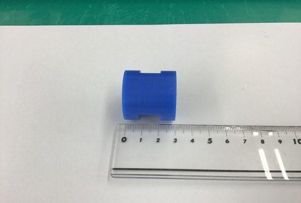 電極ホルダー用 絶縁ワッシャー 樹脂加工品サイズ:φ30×L30 2-PT1/4 - はりま部品加工・機械組立.com