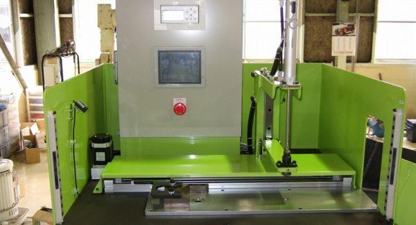 鍛造品用 自動軸長検査装置