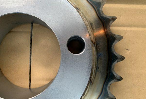 スプロケット 追加工事例用途:建設資材 外壁材 - はりま部品加工・機械組立.com