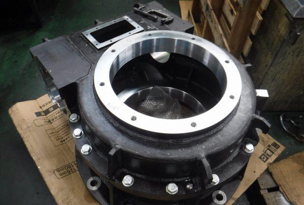 鉄鋼業向け 減速機ケーシング本体メイン画像 - はりま部品加工・機械組立.com
