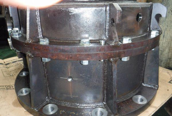 鉄鋼業向け 減速機ケーシング本体サイズ:495×880×985 - はりま部品加工・機械組立.com