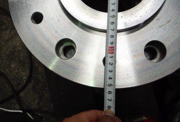 変速機ケースフランジ数量:4個 - はりま部品加工・機械組立.com